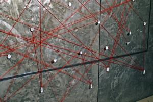 Figure 13: Detail from Sara Schneckloth, Rhizome, 2006