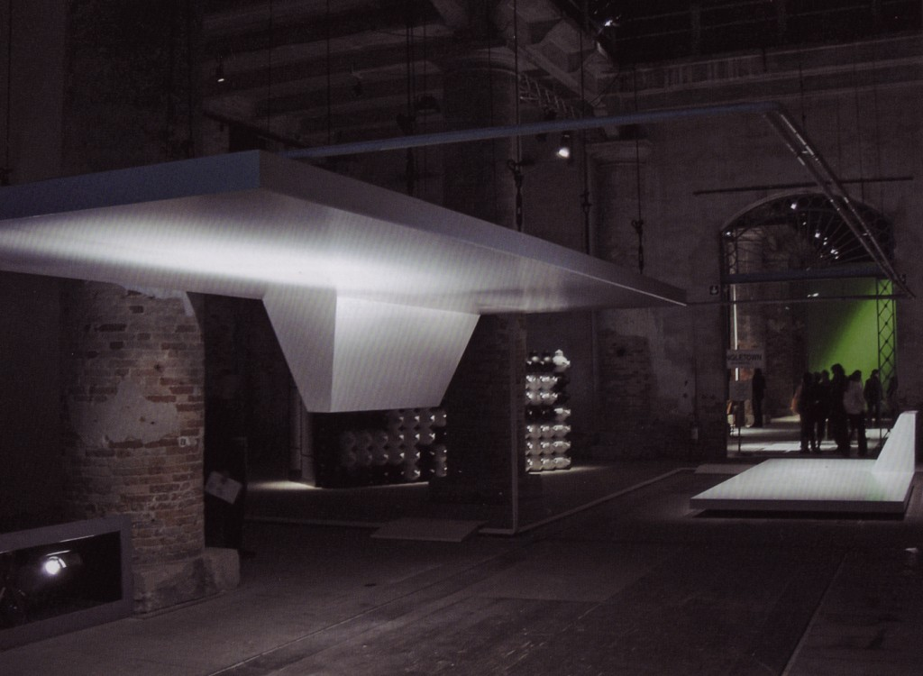 Philippe Rahm (b.1967), Digestible Gulf Stream, site-specific installation for eleventh Architectural Biennale in Venice, 2008.