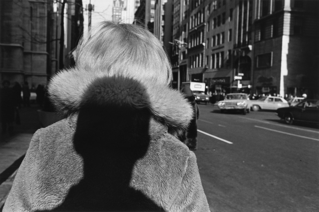 Lee Friedlander (1934), New York City, 1966, silver print, 5 ¾ x 8 11/16, Courtesy artist and Fraenkel Gallery