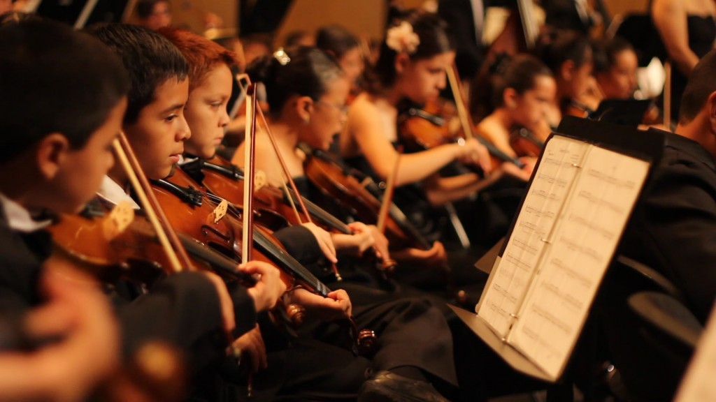 Robert Gómez Hernández, (b. 1983), La Orquesta Sinfónica Infantil de la Universidad Autónoma de Ciudad Juárez, 2012-2013, filmstill, courtesy of the artist