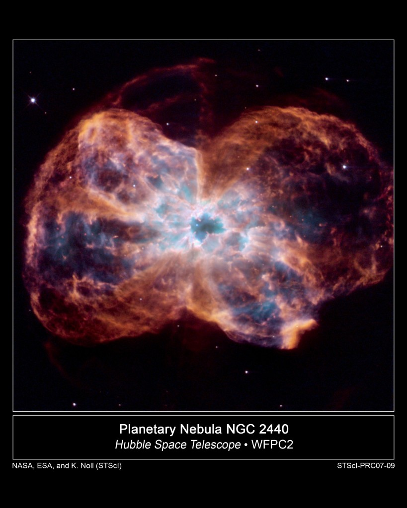 Figure  6.  Planetary Nebula. NGC 2440. Courtesy NASA, ESA, and K. Noll (STScI).