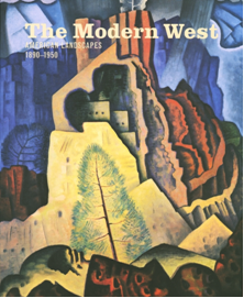 Cover of Neff's catalogue of the exhibition reproducing Jonson's Cliff Dwellings.
