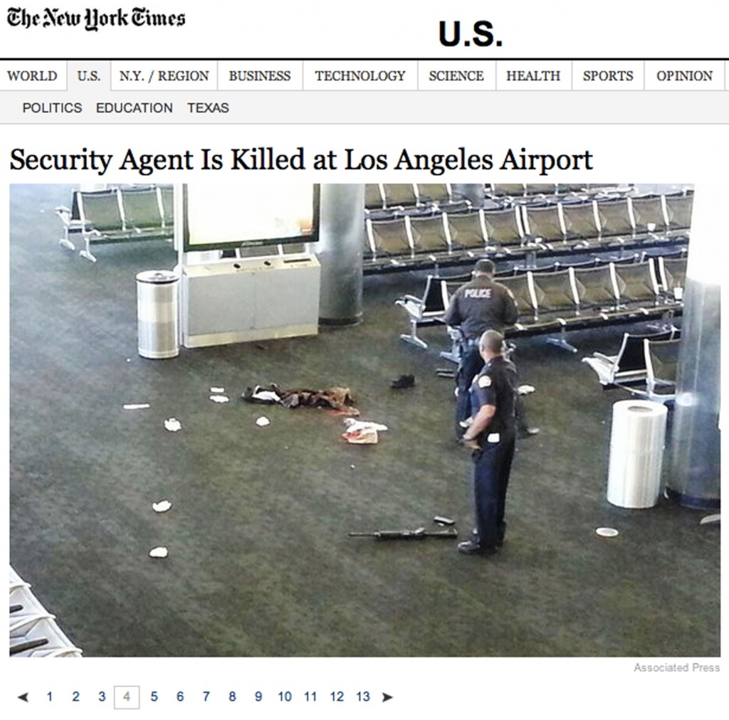 [Figure 1. Screenshot, Embedded slideshow, The New York Times online, 2013]