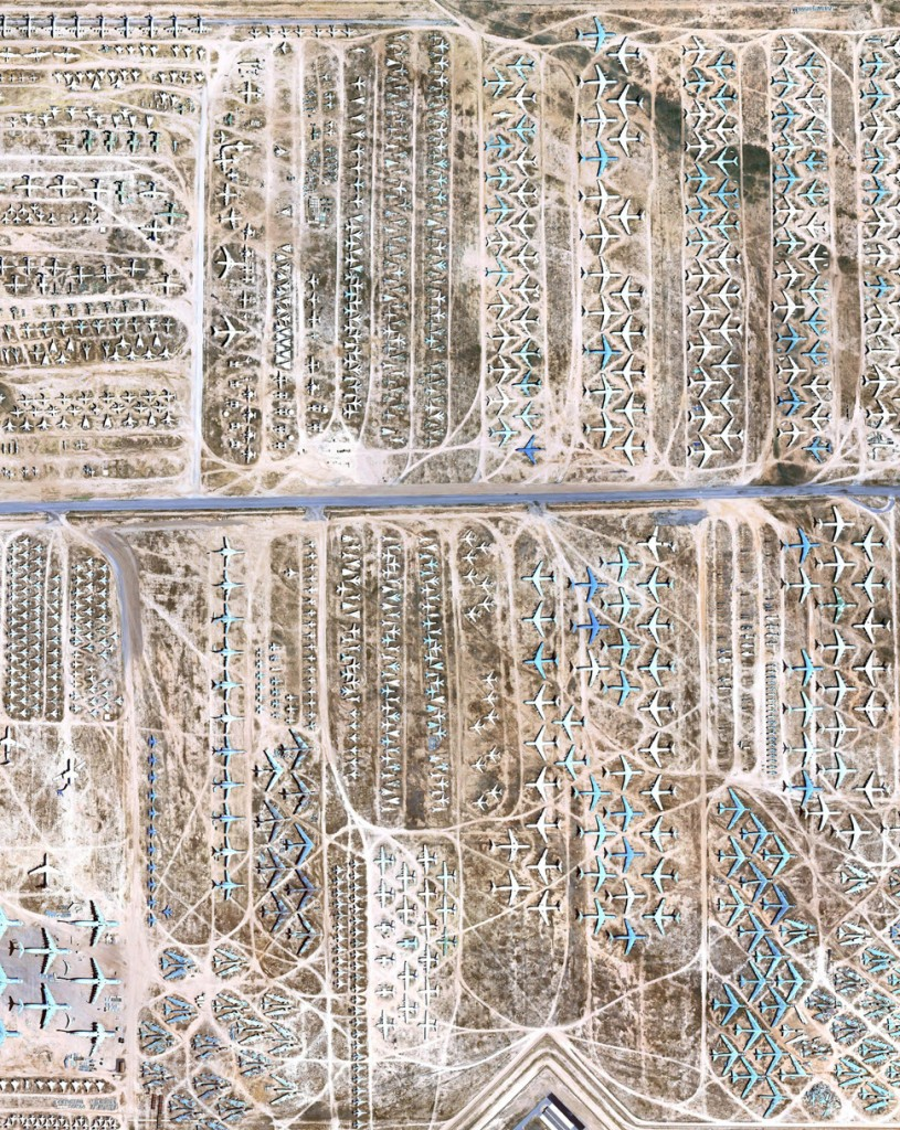 Figure 12. Davis-Monthan Air Force Base, Screenshot of Google Earth, 2013.