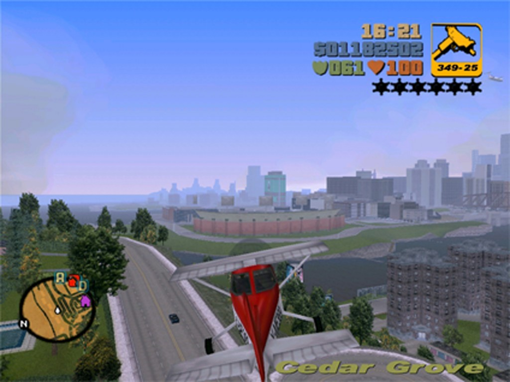 Figure 9. DMA Design, Grand Theft Auto III, 2001, PC, Xbox, PlayStation2, et al.