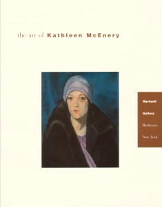 Catalogue for McEnery exhibition, Rochester, NY, 2003