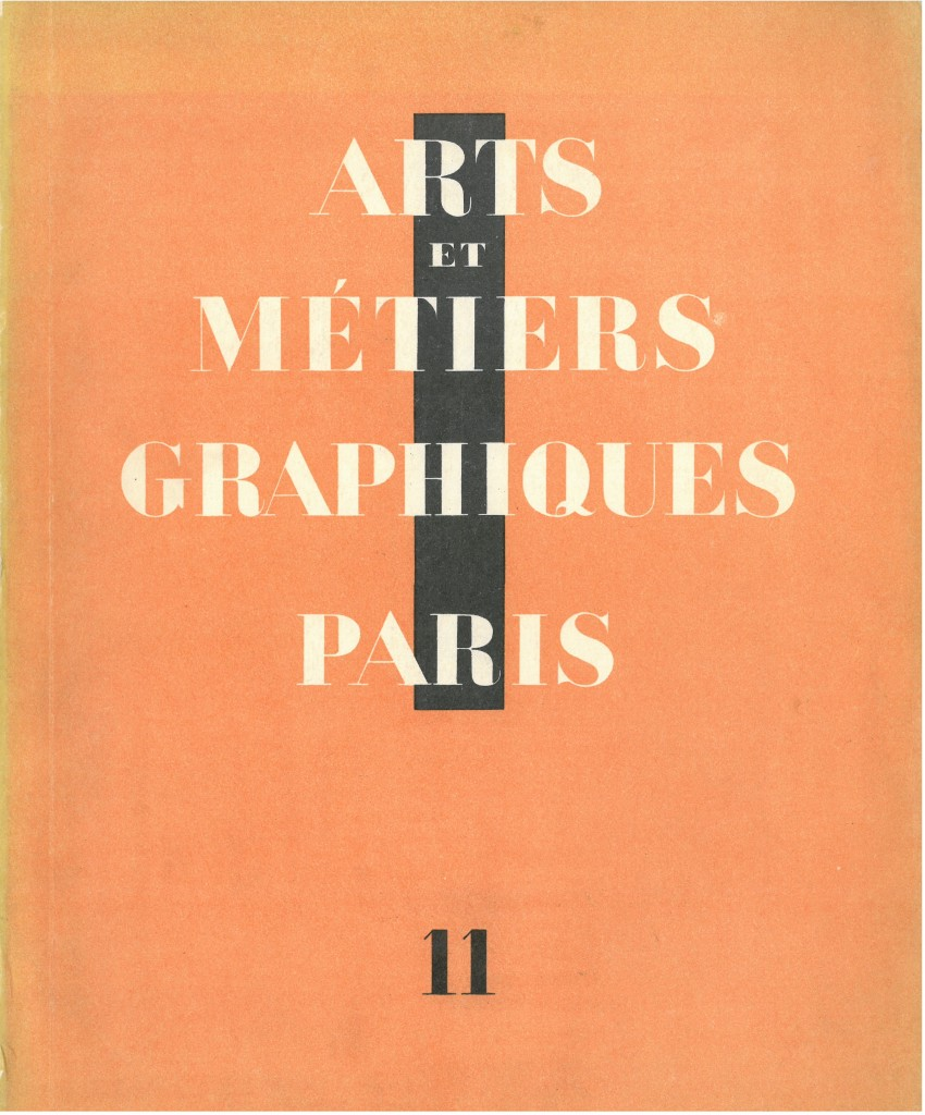 Figure 1. Cover of the eleventh issue of AMG