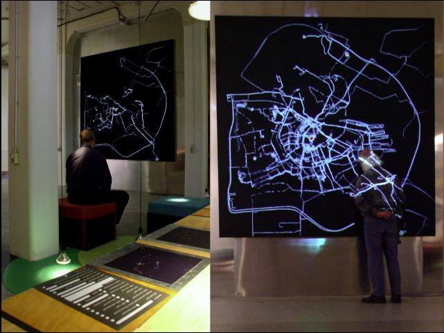 Figure 1. Screenshot, Amsterdam RealTime online, 2002.