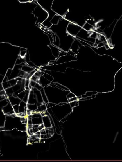 Figure 3. Screenshot, Amsterdam RealTime online, 2002.