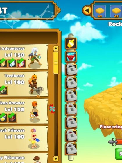 Image of the Playsaurus, Clicker Heroes 2014 video game.