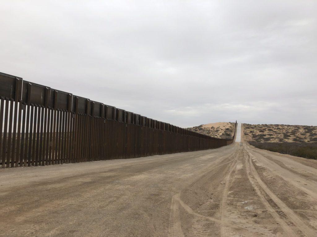 Photo of New Mexico Border 2019.